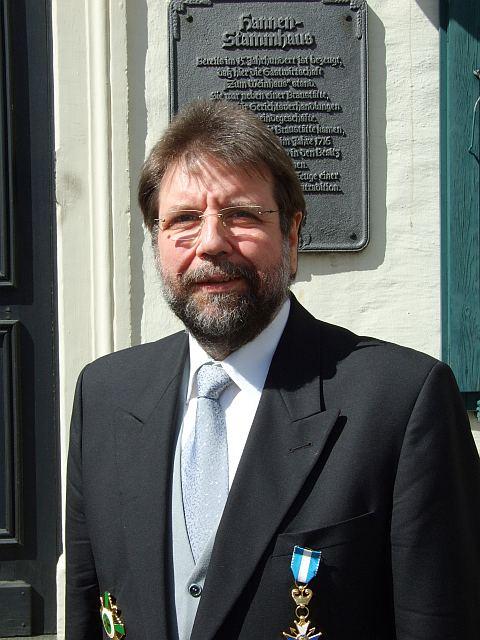 Bezirksbundesmeister Horst Thoren