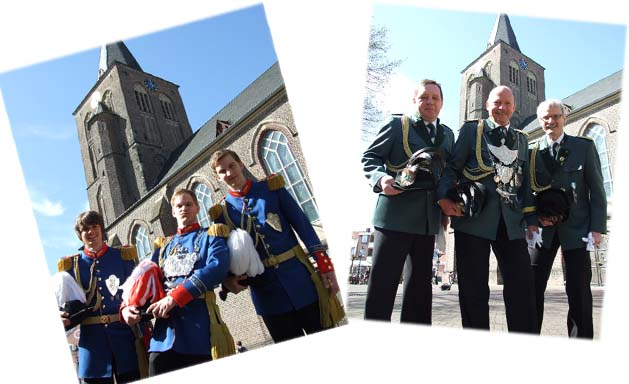 Könige 2011 vor der St.Andreas-Kirche