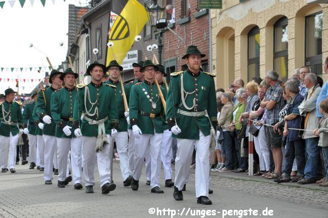 Einzug zur Parade