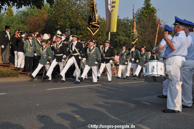 Parade in Pesch