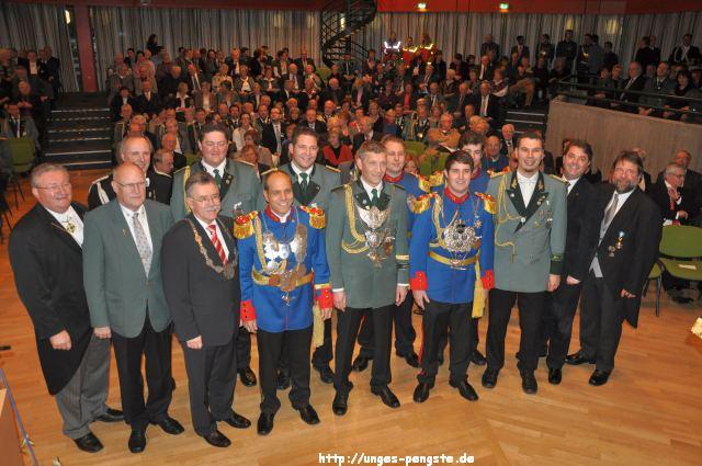 Könige 2012 - Neujahrsempfang