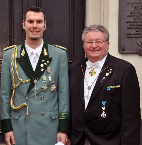 Präsidenten der Korschenbroicher Bruderschaften