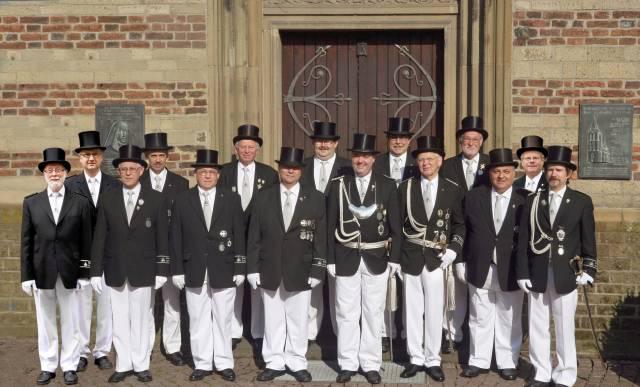 Grenadierzug Alt Enbrück aus Korschenbroich fiert 2013 275 jähriges bestehen!