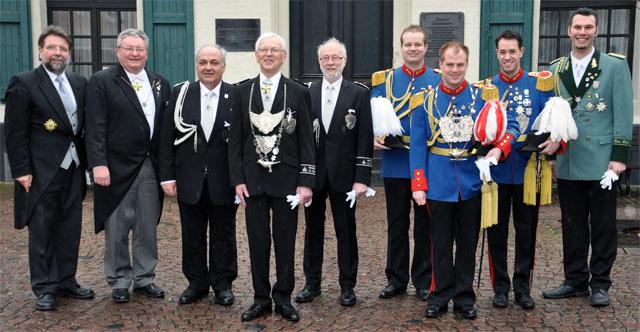 Majestäten zu Unges-Pengste 2013