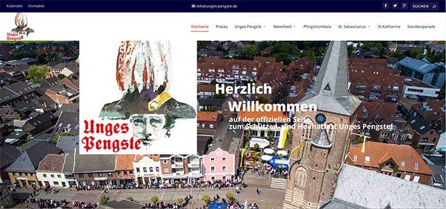 Die neue Unges-Pengste-Webseite