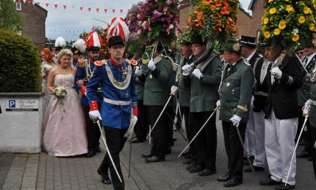 Schützen stellen Ehrenkompanie in Main-Metropole