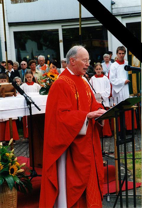 † Pfarrer Alois Müller