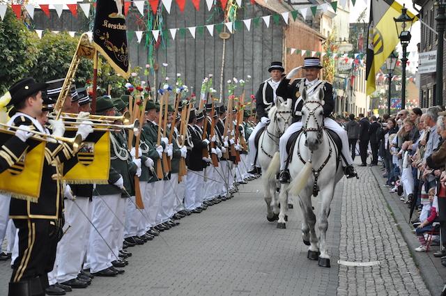 Kulturerbe Schützenwesen in Korschenbroich