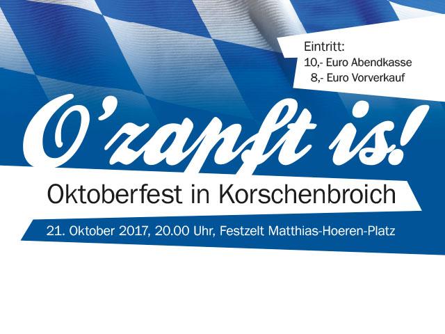 Oktober-Veranstaltungen 2017