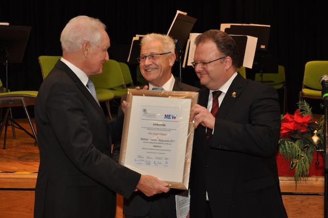 Jürgen Hüsges erhält den Bürgerpreis 2017