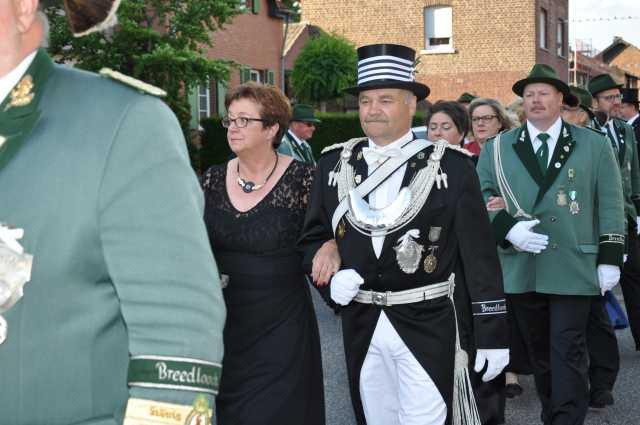 Rolf Winkens mit Ehefrau Maritee