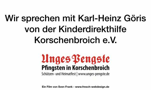Interview mit Infos zur 35. Pfingsttombola