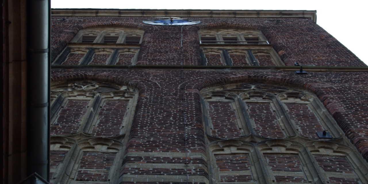 Der Kirchturm von St. Andreas ist wieder frei