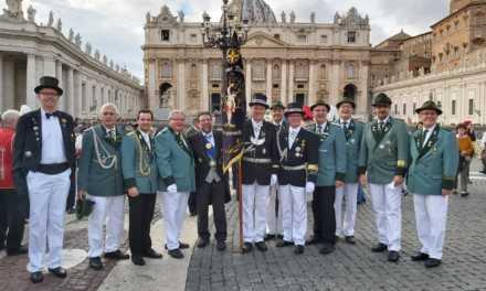 Abordnung aus Korschenbroich unterwegs in Rom