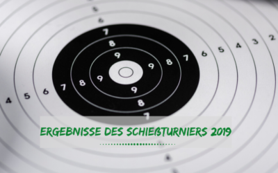Schießturnier 2019 – Ergebnisse