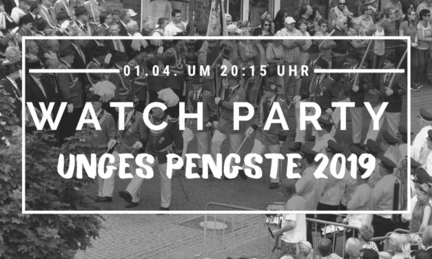 1. Watch-Party auf Unges-Pengste.de