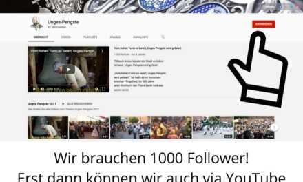 Abonniere jetzt unseren YouTube-Kanal!