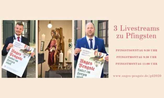 Gottesdienste zu Pfingsten 2020