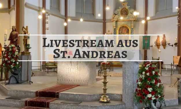 Livestream aus St Andreas